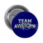 Team Awesome Pinback Buttons