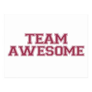 Team Awesome Postcard