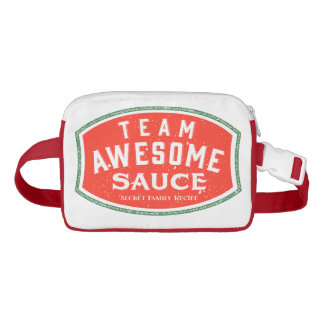 Team Awesome Sauce fanny pack