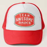 """Team Awesome Sauce Trucker Hat<br><div class=""""desc"""">Team Awesome Sauce hat</div>"""