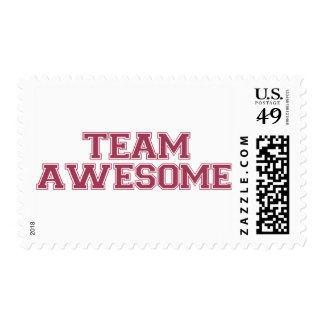 Team Awesome Stamp