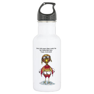 Team Awkward Induction for Betty Stainless Steel Water Bottle
