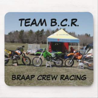 Team B.C.R. Mouse Pad