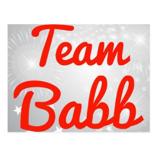 Team Babb Post Cards