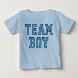 Team Baby Boy | Toddler Kid's Blue Shirt