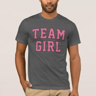 Team Baby Girl | Men's Pink and Gray Shirt