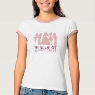 Team bachelorette pink t-shirt