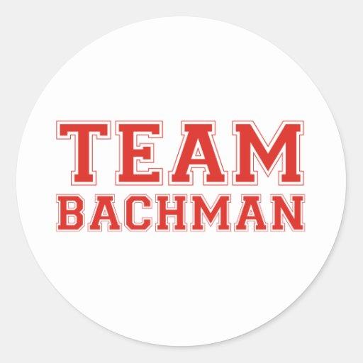 TEAM BACHMAN ROUND STICKER