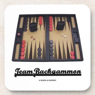 Team Backgammon (Backgammon Board) Coaster