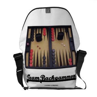 Team Backgammon (Backgammon Board) Courier Bag