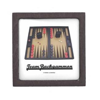 Team Backgammon (Backgammon Board) Premium Gift Boxes
