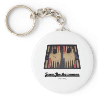 Team Backgammon Key Chains