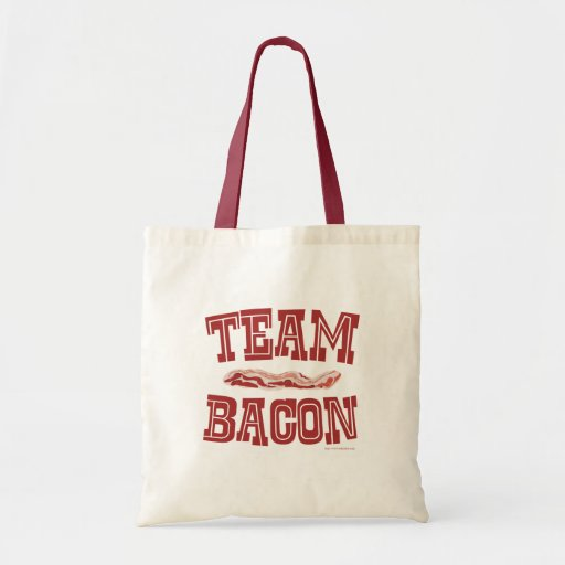 Team Bacon Canvas Bags
