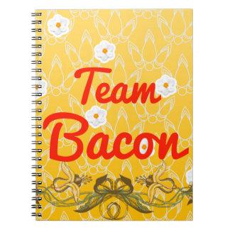 Team Bacon Spiral Notebook