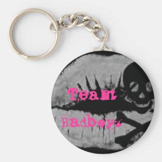 Team Badboyz Girly Punk Keychain