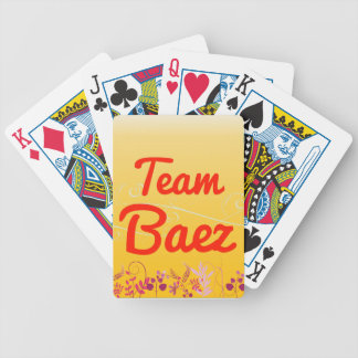 Team Baez Bicycle Playing Cards