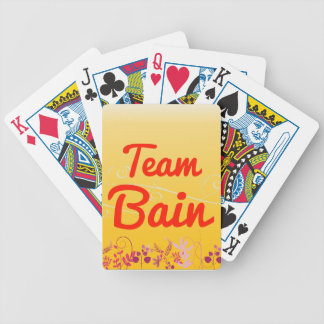 Team Bain Bicycle Playing Cards