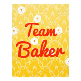 Team Baker Custom Flyer