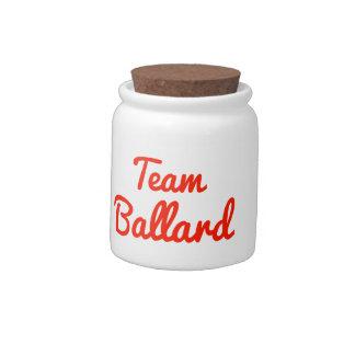Team Ballard Candy Jars