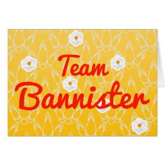 Team Bannister Cards