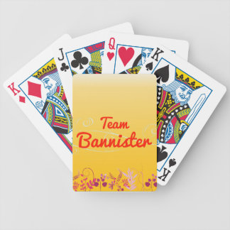 Team Bannister Playing Cards