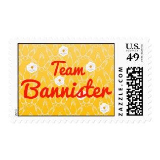 Team Bannister Stamps