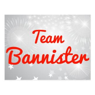 Team Bannister Post Cards