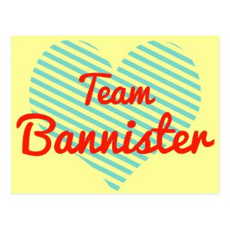 Team Bannister Post Card
