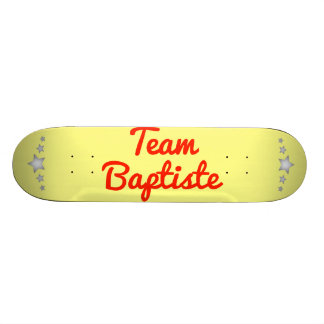 Team Baptiste Skate Board Deck