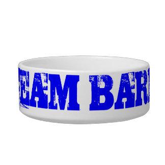 Team Bark Official Gear Cat Food Bowl