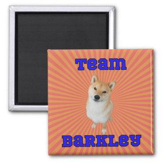 Team Barkley - 2 Inch Square Magnet