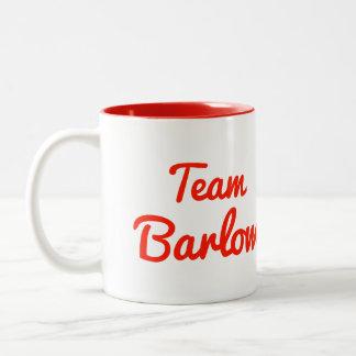 Team Barlow Two-Tone Coffee Mug