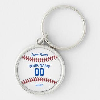 Team Baseball Jersey Sport Keychain