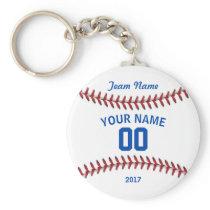 Team Baseball Sport Keychain