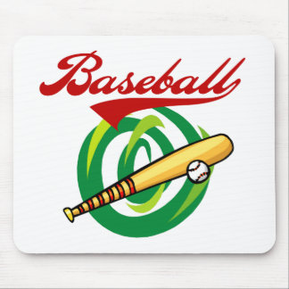 Team Baseball T-shirts and Gifts Mouse Pad