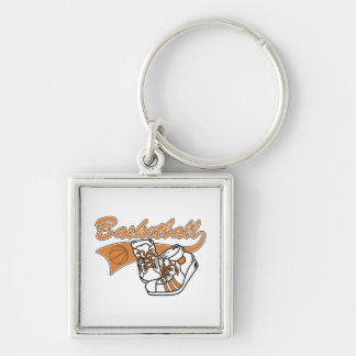 Team Basketball With Shoes Tshirts and Gifts Keychain