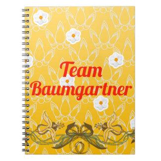 Team Baumgartner Spiral Notebook