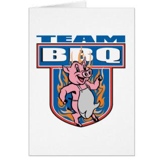 Team BBQ Pork Card