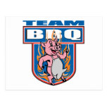 Team BBQ Pork Postcards