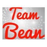 Team Bean Post Cards