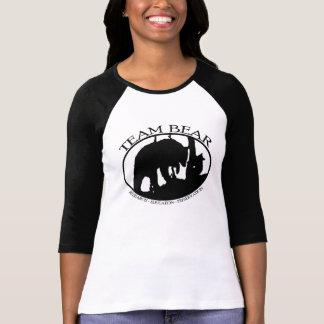 Team Bear Ladies 3/4 Sleeve Raglan T-Shirt