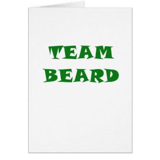 Team Beard Card