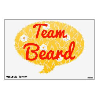 Team Beard Room Decals