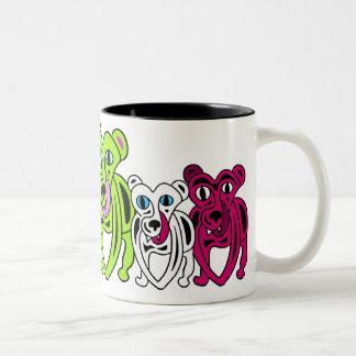 teAm beAsty Two-Tone Coffee Mug