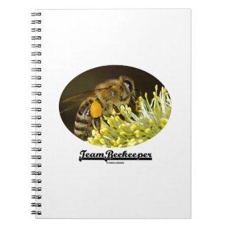 Team Beekeeper (Bee On Yellow Flower) Journals