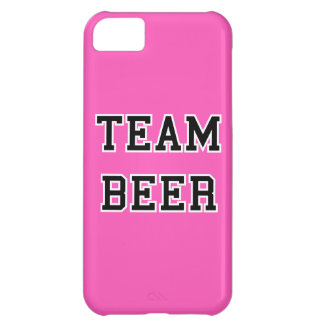 Team Beer - Any Team Colors iPhone 5C Cases