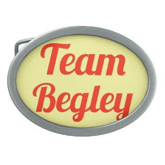 Team Begley Oval Belt Buckle