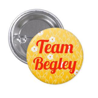 Team Begley Pinback Buttons