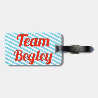 Team Begley Travel Bag Tag