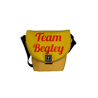 Team Begley Messenger Bags
